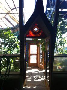Earthship garden