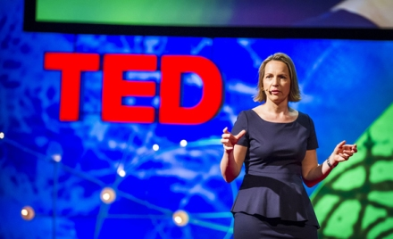 Annette Heuser speaks on why the big three credit rating agencies don't have to have a stronghold on sovereign ratings at TEDGlobal 2013. Photo: James Duncan Davidson